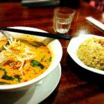 タイ古式とラーメンとカレー